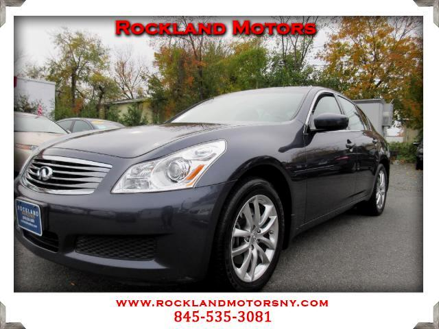 2009 Infiniti G Sedan DISCLAIMER We make every effort to present information that is accurate Howe