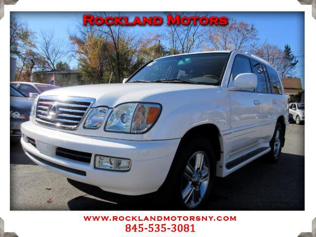 2007 Lexus LX 470 DISCLAIMER We make every effort to present information that is accurate However