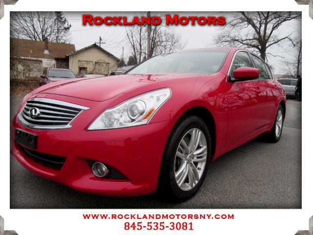 2012 Infiniti G Sedan DISCLAIMER We make every effort to present information that is accurate Howe