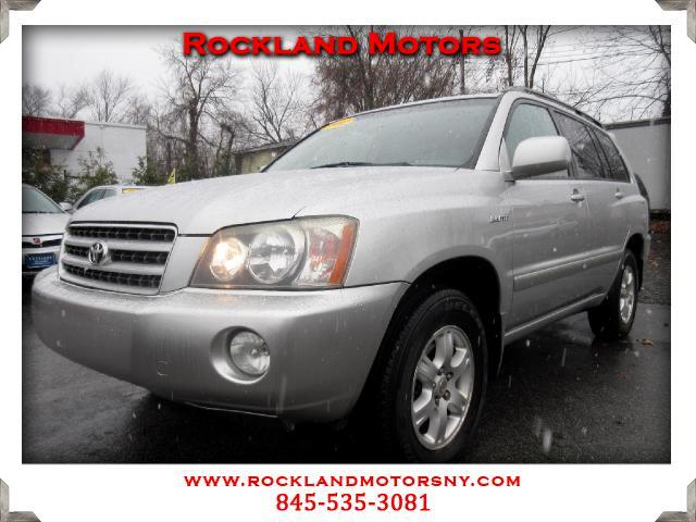 2002 Toyota Highlander DISCLAIMER We make every effort to present information that is accurate How