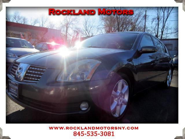 2006 Nissan Maxima DISCLAIMER We make every effort to present information that is accurate However
