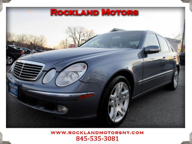 2003 Mercedes E-Class DISCLAIMER We make every effort to present information that is accurate Howe