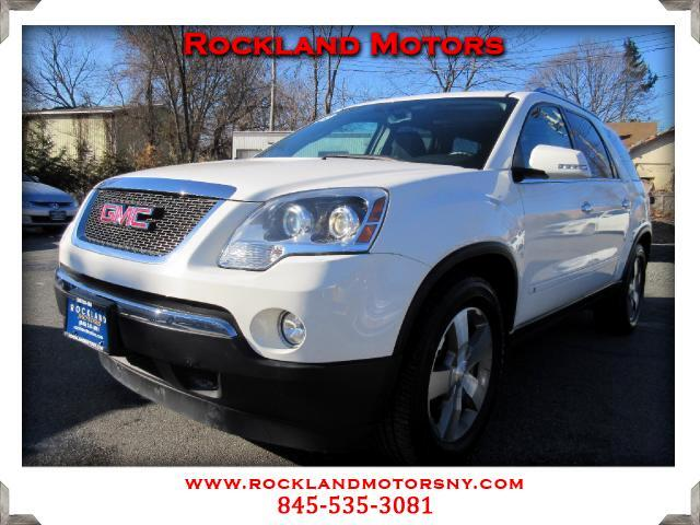 2009 GMC Acadia DISCLAIMER We make every effort to present information that is accurate However it