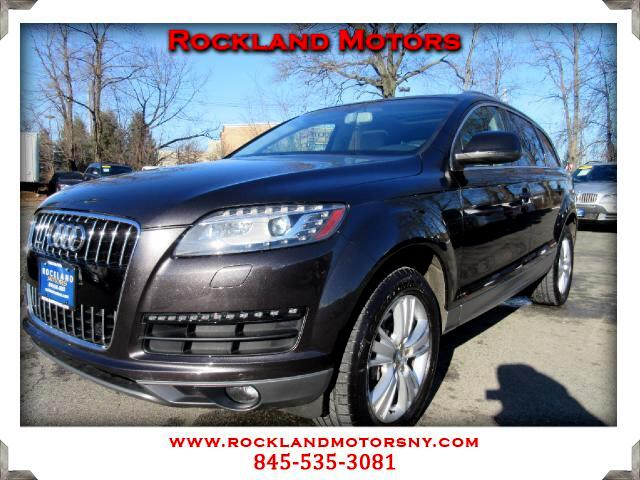2010 Audi Q7 DISCLAIMER We make every effort to present information that is accurate However it is