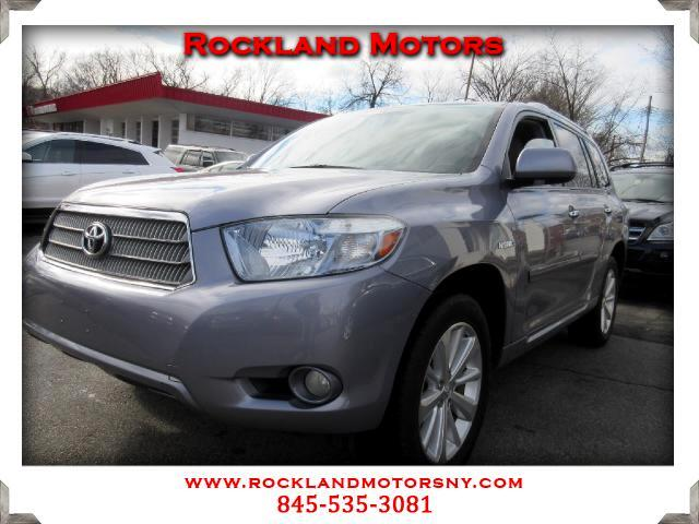 2008 Toyota Highlander Hybrid DISCLAIMER We make every effort to present information that is accura