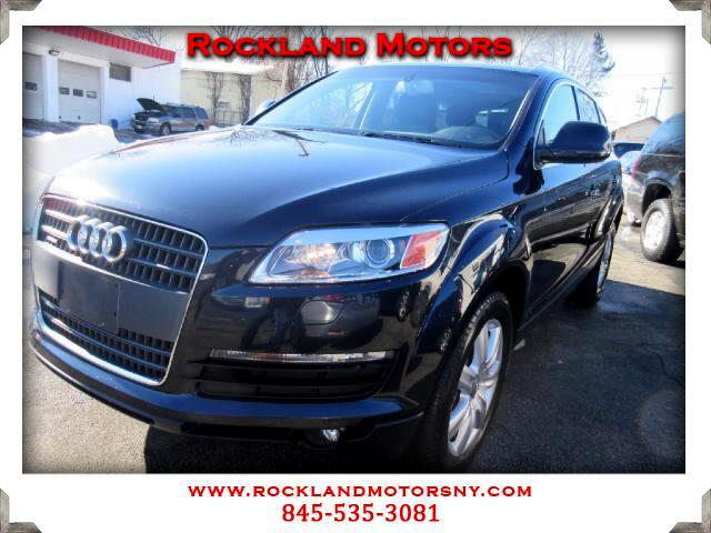 2008 Audi Q7 DISCLAIMER We make every effort to present information that is accurate However it is
