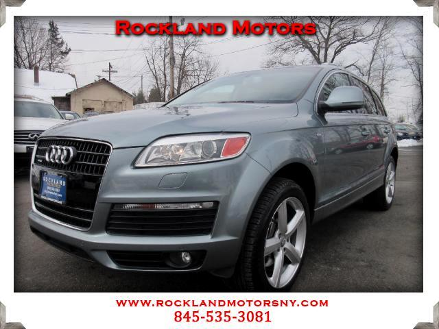 2009 Audi Q7 DISCLAIMER We make every effort to present information that is accurate However it i