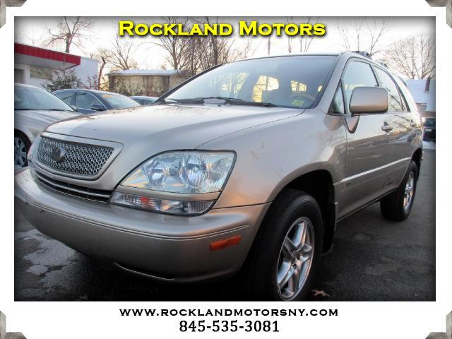 2002 Lexus RX 300 DISCLAIMER We make every effort to present information that is accurate However