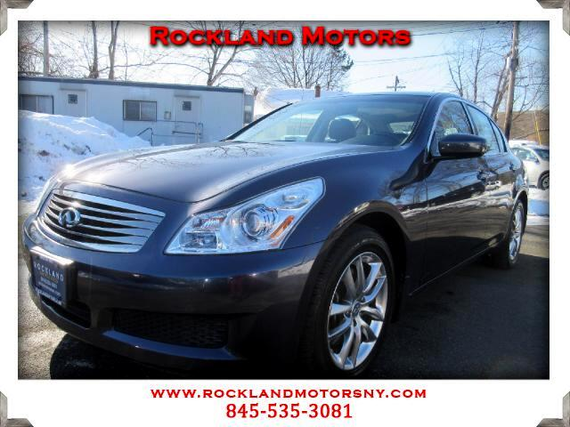 2009 Infiniti G Sedan DISCLAIMER We make every effort to present information that is accurate How