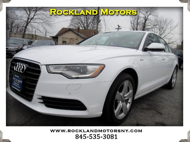 2012 Audi A6 DISCLAIMER We make every effort to present information that is accurate However it i