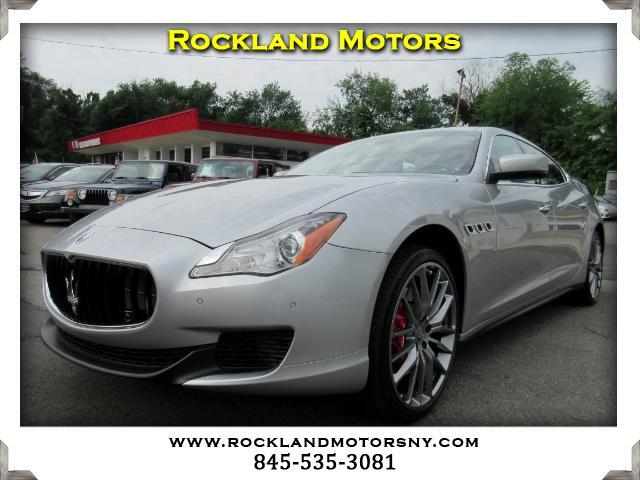 2014 Maserati Quattroporte DISCLAIMER We make every effort to present information that is accurate