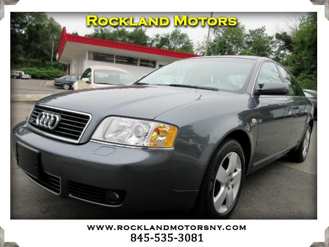 2004 Audi A6 DISCLAIMER We make every effort to present information that is accurate However it i