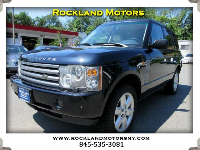 2003 Land Rover Range Rover DISCLAIMER We make every effort to present information that is accurat