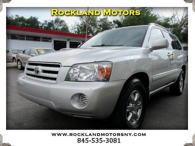 2005 Toyota Highlander DISCLAIMER We make every effort to present information that is accurate Ho