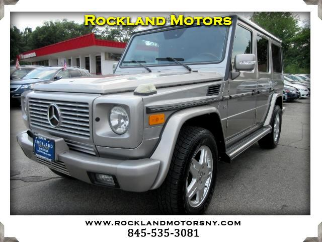 2003 Mercedes G-Class DISCLAIMER We make every effort to present information that is accurate How