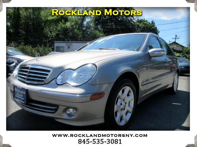 2005 Mercedes C-Class DISCLAIMER We make every effort to present information that is accurate How