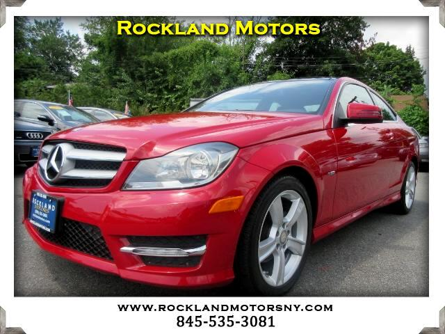 2012 Mercedes C-Class DISCLAIMER We make every effort to present information that is accurate How