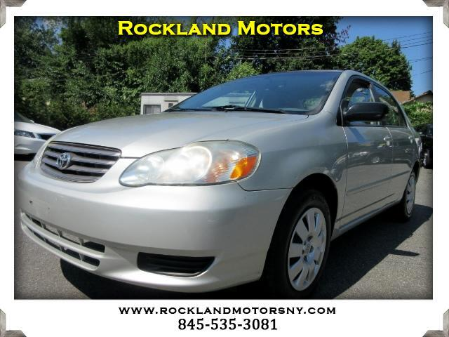 2004 Toyota Corolla DISCLAIMER We make every effort to present information that is accurate Howev
