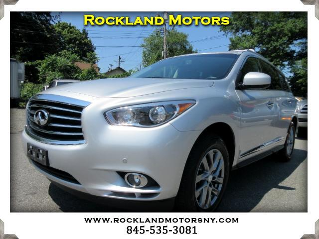 2013 Infiniti JX DISCLAIMER We make every effort to present information that is accurate However