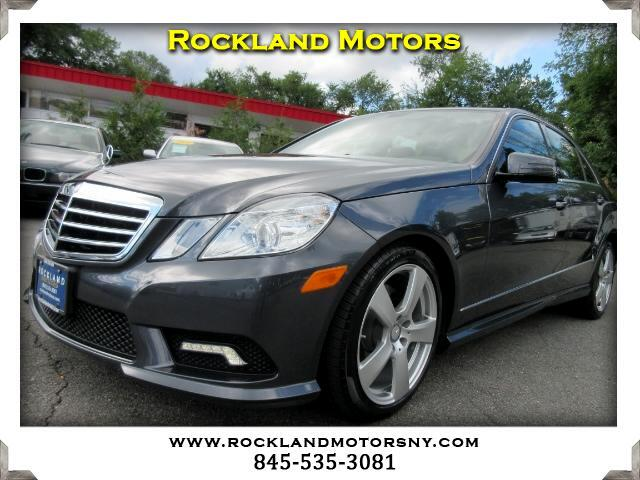 2011 Mercedes E-Class DISCLAIMER We make every effort to present information that is accurate How