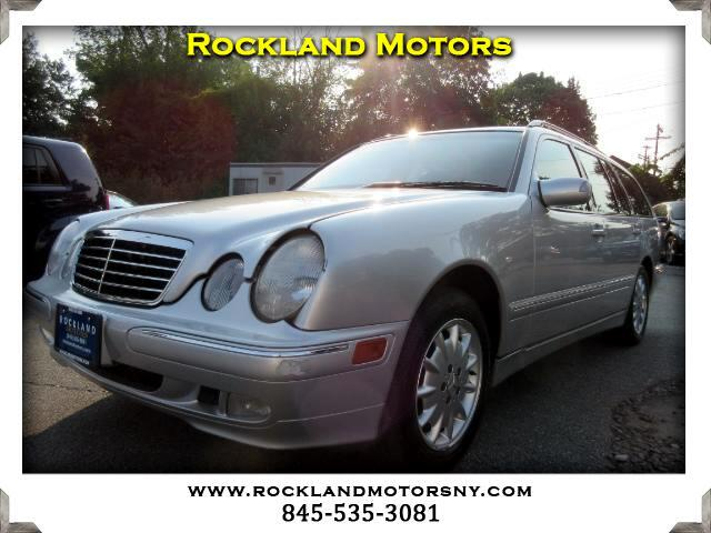 2002 Mercedes E-Class Wagon DISCLAIMER We make every effort to present information that is accurat
