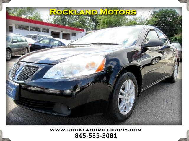 2006 Pontiac G6 DISCLAIMER We make every effort to present information that is accurate However i