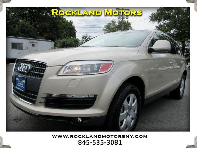 2007 Audi Q7 DISCLAIMER We make every effort to present information that is accurate However it i