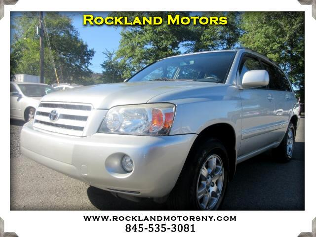 2004 Toyota Highlander DISCLAIMER We make every effort to present information that is accurate Ho