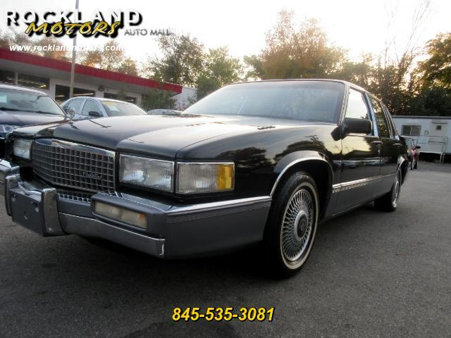 1990 Cadillac DeVille DISCLAIMER We make every effort to present information that is accurate How