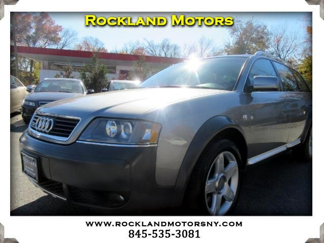 2005 Audi allroad quattro DISCLAIMER We make every effort to present information that is accurate