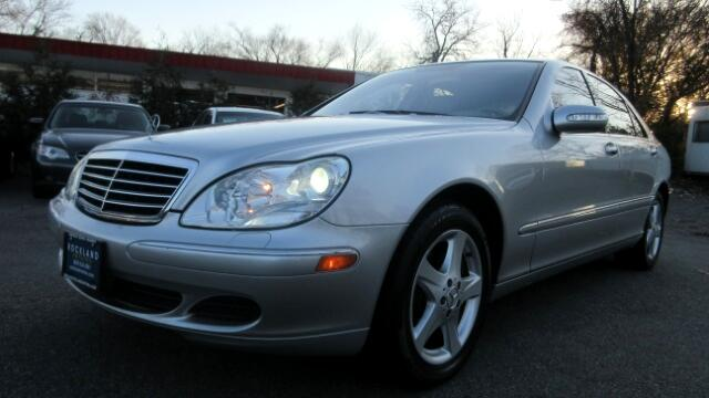 2005 Mercedes S-Class DISCLAIMER We make every effort to present information that is accurate How