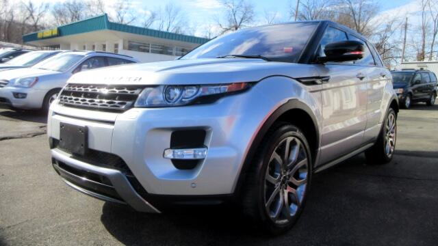 2012 Land Rover Range Rover Evoque DISCLAIMER We make every effort to present information that is