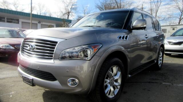 2014 Infiniti QX80 DISCLAIMER We make every effort to present information that is accurate Howeve
