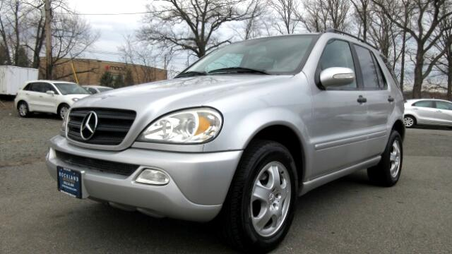 2002 Mercedes M-Class DISCLAIMER We make every effort to present information that is accurate How