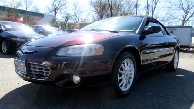 2002 Chrysler Sebring DISCLAIMER We make every effort to present information that is accurate How