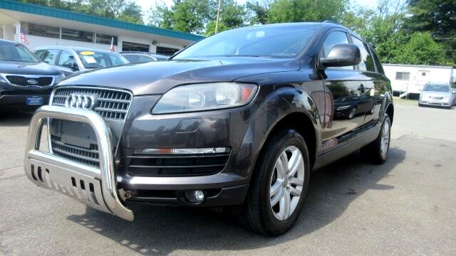 2008 Audi Q7 DISCLAIMER We make every effort to present information that is accurate However it i