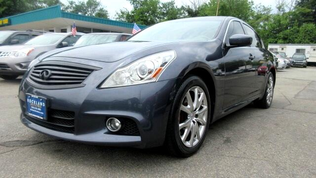 2011 Infiniti G Sedan DISCLAIMER We make every effort to present information that is accurate How