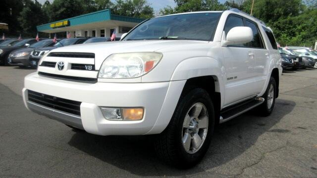 2003 Toyota 4Runner DISCLAIMER We make every effort to present information that is accurate Howev