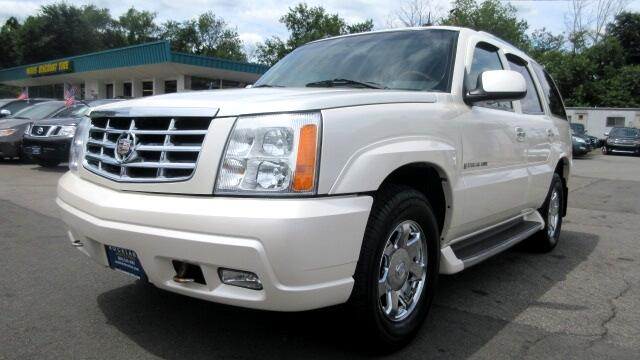 2003 Cadillac Escalade DISCLAIMER We make every effort to present information that is accurate Ho
