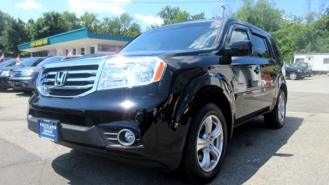 2012 Honda Pilot DISCLAIMER We make every effort to present information that is accurate However