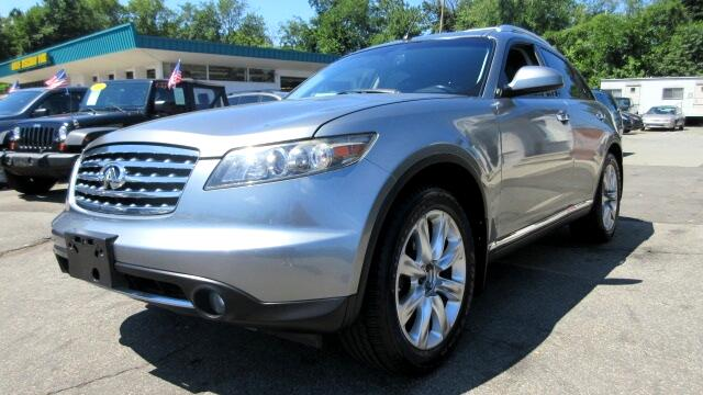 2008 Infiniti FX DISCLAIMER We make every effort to present information that is accurate However