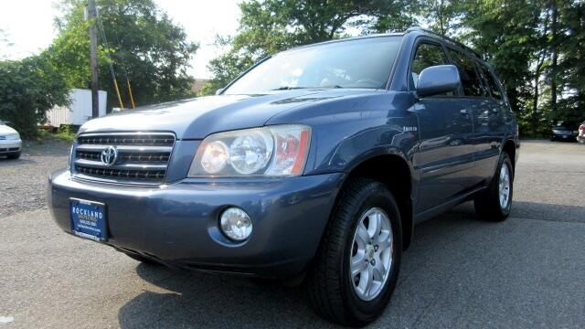 2002 Toyota Highlander DISCLAIMER We make every effort to present information that is accurate Ho