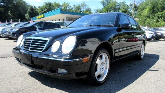 2002 Mercedes E-Class DISCLAIMER We make every effort to present information that is accurate How