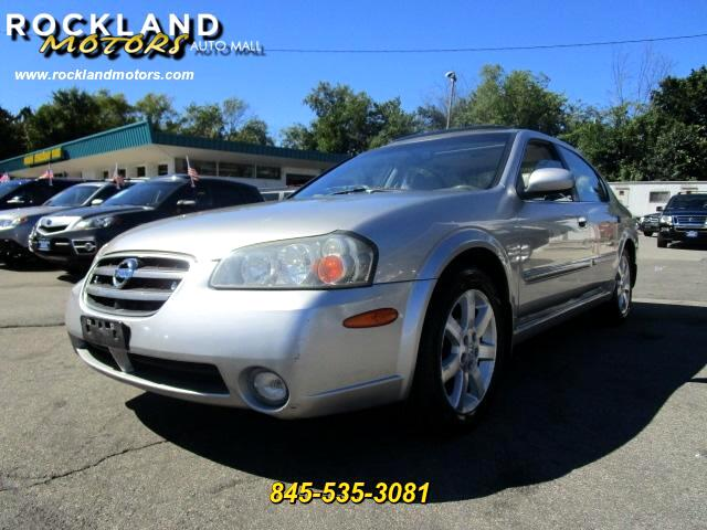 2003 Nissan Maxima DISCLAIMER We make every effort to present information that is accurate Howeve
