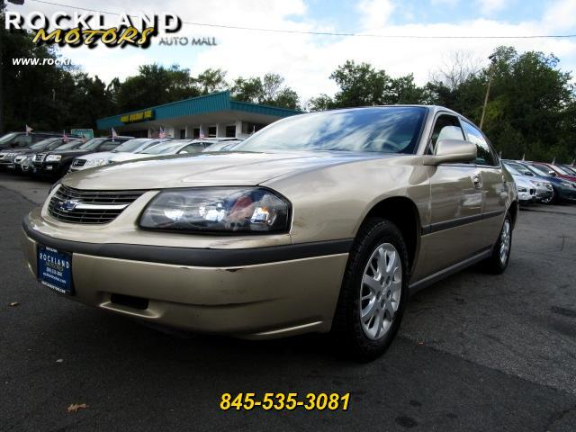 2004 Chevrolet Impala DISCLAIMER We make every effort to present information that is accurate How