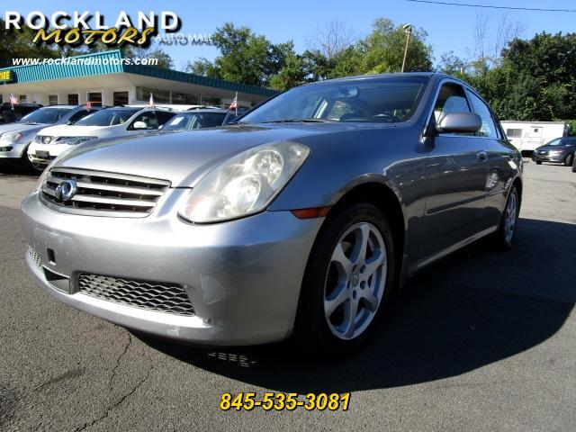 2005 Infiniti G35 DISCLAIMER We make every effort to present information that is accurate However
