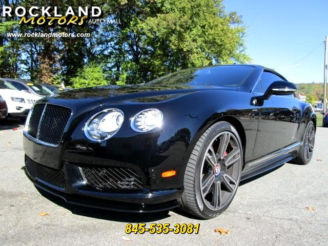 2015 Bentley Continental GTC DISCLAIMER We make every effort to present information that is accura