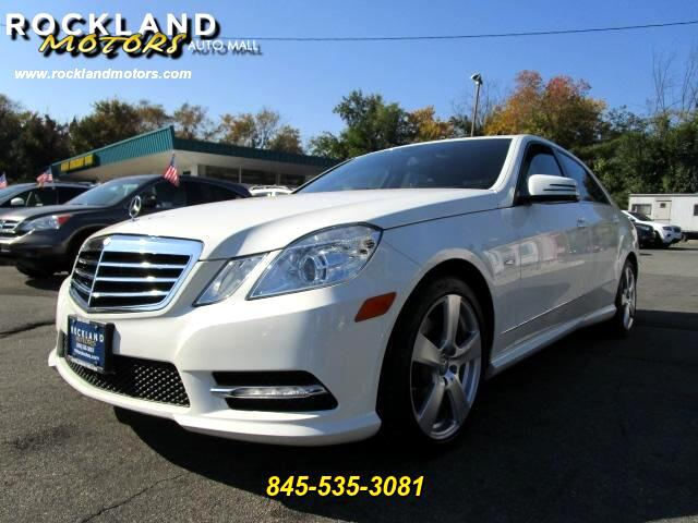 2012 Mercedes E-Class DISCLAIMER We make every effort to present information that is accurate How
