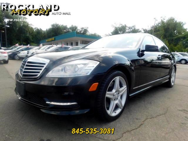 2010 Mercedes-Benz S-Class S550 Sport Package