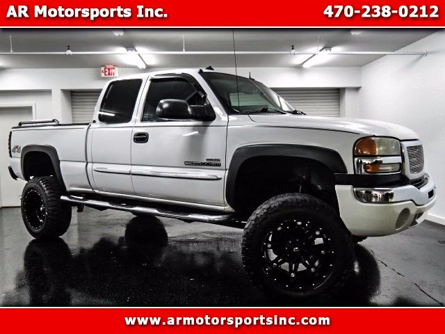 2003 GMC Sierra 2500HD SLT Ext. Cab Short Bed 4WD